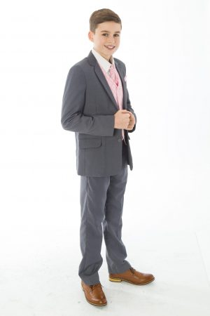 5 Piece Grey with Pink Alfred