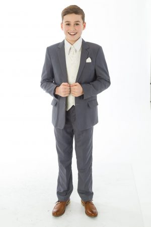 5 Piece Grey with Cream Alfred