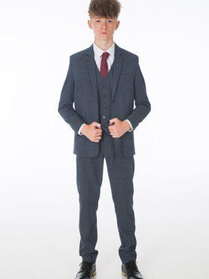 Boys 5 Piece Suits Boys 5 Piece Suit in Navy Oscar