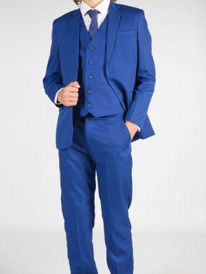 Boys 5 Piece Suits Boys 5 piece suit in Blue Romario