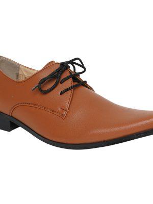 Boys Shoes Boys Brown Matte Derby Shoe