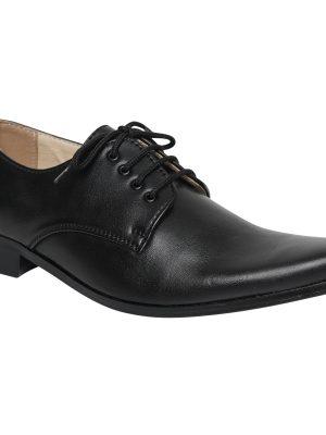 Boys Shoes Boys Black Matte Derby Shoe