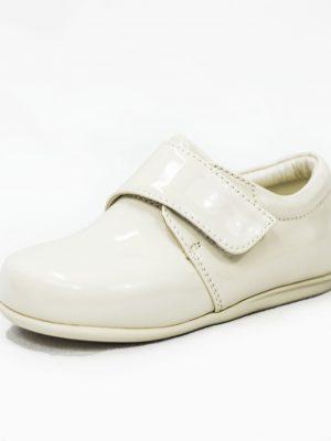 Boys Shoes Baby Boys Cream Patent Prince