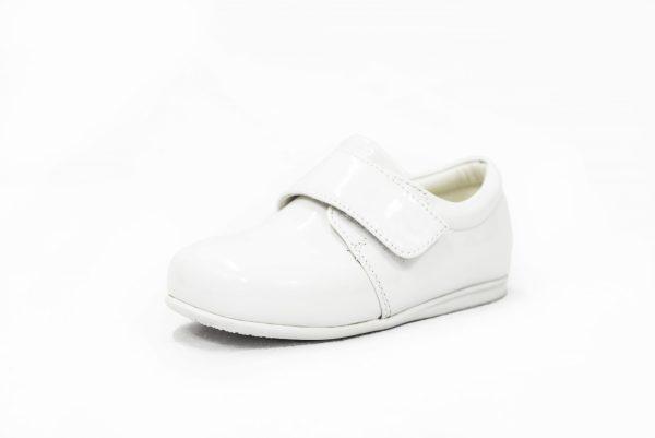 Baby Boys White Patent Prince