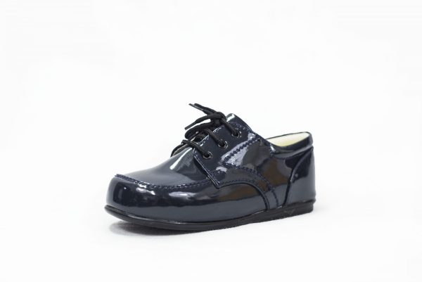Early Steps Navy Patent Royal Loafers