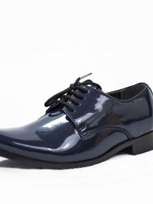 Boys Shoes Boys Navy Patent Derby Shoe