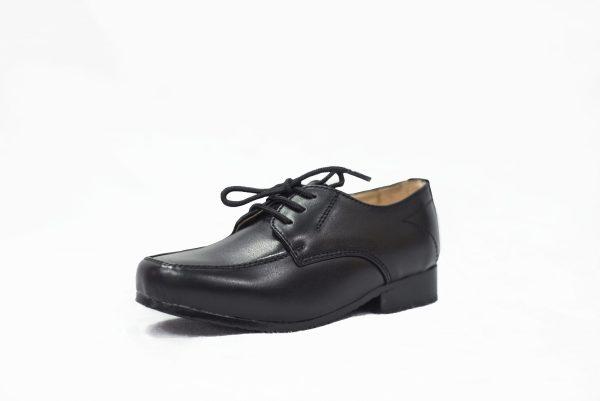 Boys Black Matte William Shoe