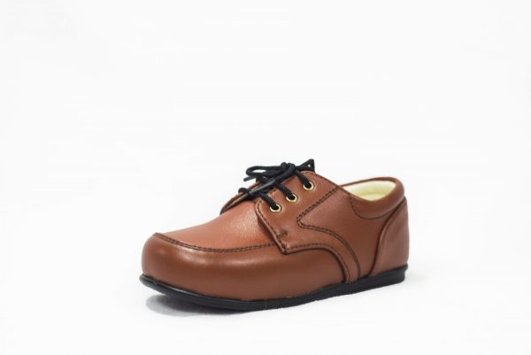 Early Steps Brown Royal Loafers