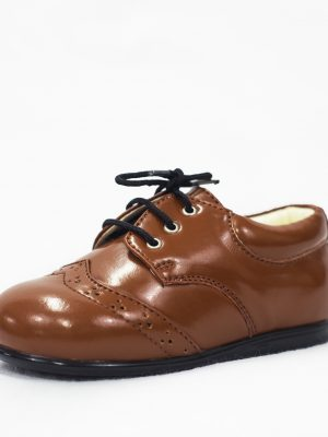 Boys Shoes Early Steps Brown Brogue