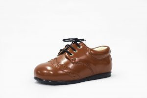 Early Steps Brown Brogue