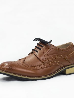 Boys Shoes Boys Brown Brogue Vivaki Shoe