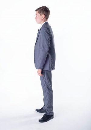 Boys 5 piece Baby Boy suit Grey Romario