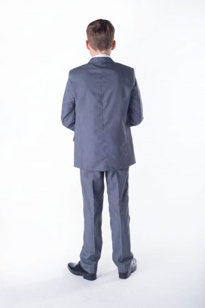 Boys 5 piece suit Grey Romario
