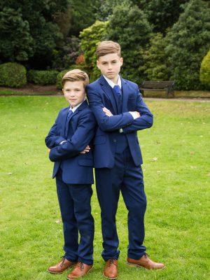 Boys 5 Piece Suits Boys 5 Piece Suit Royal Blue
