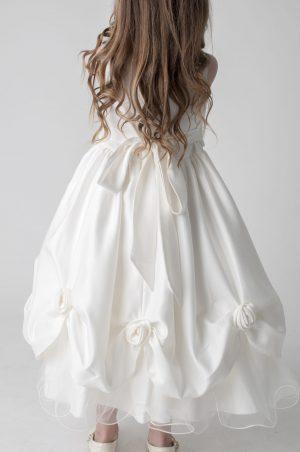 Girls Ivory Dress Amelia