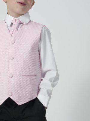 Boys 4 Piece Waistcoat Suits Boys 4 Piece Suit Black With Pink Waistcoat Philip