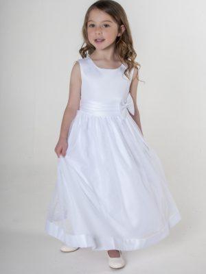Girls Girls White Dress Alice