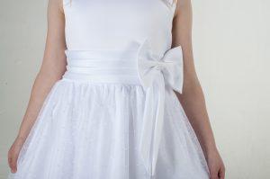 Girls White Dress Alice
