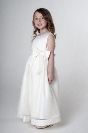 Girls Ivory Dress Alice
