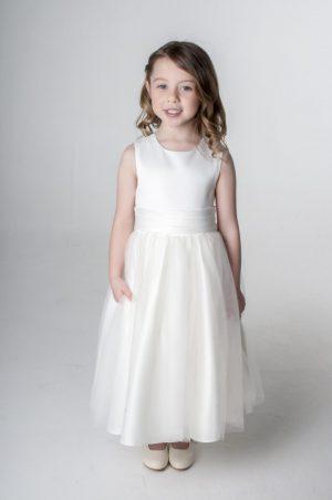 Girls Ivory Dress Kate