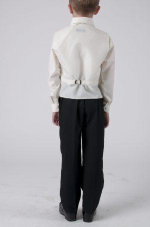 Boys 4 piece suit Cream Alfred