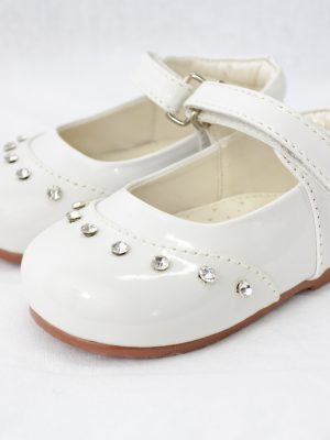 Girls Early Steps Girls White Fairy Shoes