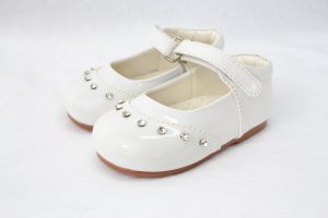 Early Steps Girls White Fairy Shoes