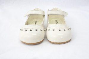 Early Steps Girls Cream Fairy Diamond Shoes