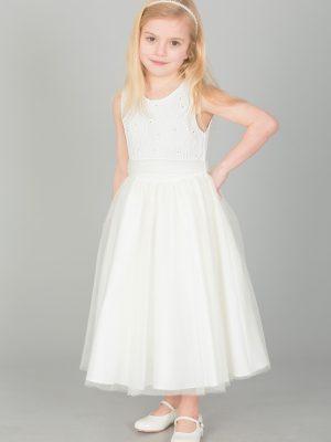 Flower Girl Dresses and Bridesmaid Dresses Girls ivory dress Eliza