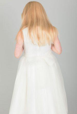 Girls ivory dress Eliza