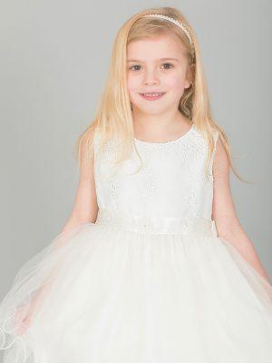 Girls Dresses Girls ivory dress Ava