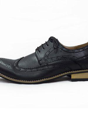 Boys Shoes Boys Black Brogue Vivaki Shoe
