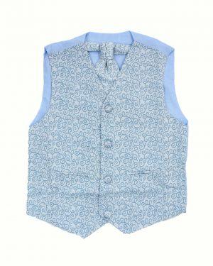 Boys Blue Waistcoat Henry