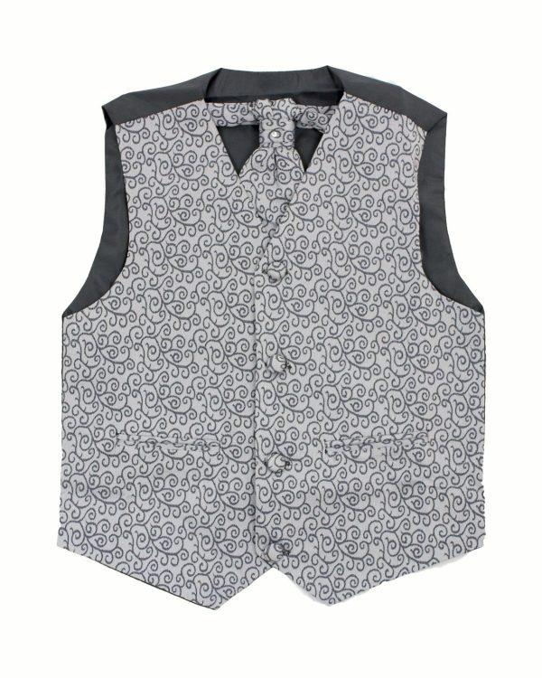 Boys Grey Waistcoat Henry
