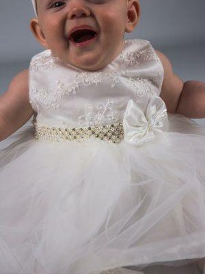 Baby Girls Dresses Baby Girls Dress Set Ivory