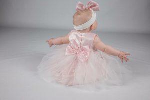 Baby Girls Dress Set Pink