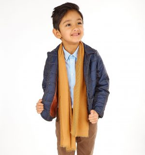 5pc Boys Casual Outfit with Navy Jacket Suit