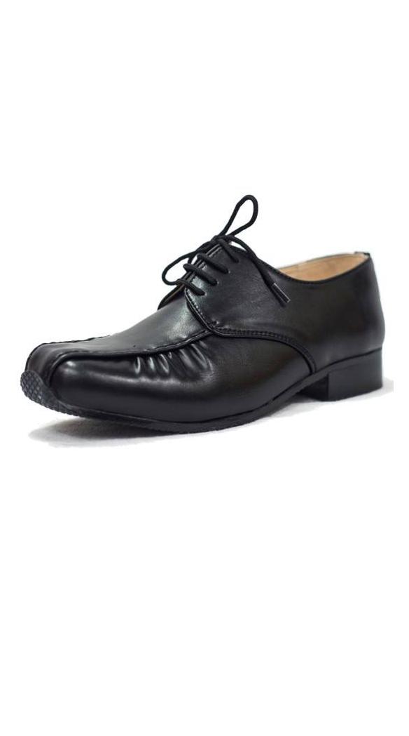 Boys Black Harry Shoe