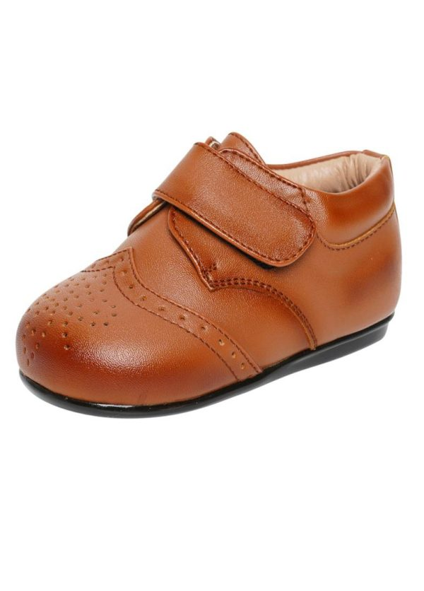 Early Steps Brown Strap Brogue