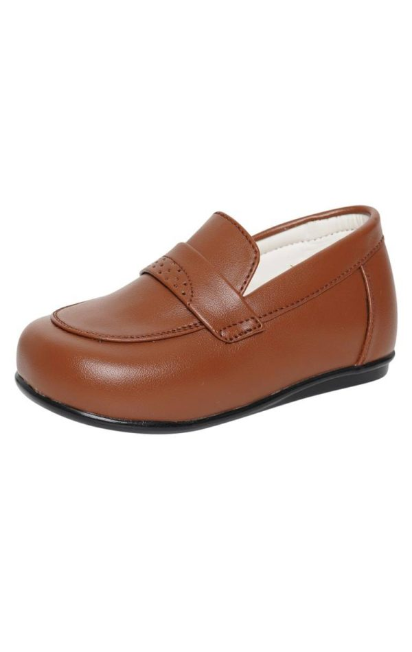 Early Steps Brown Loafers 001