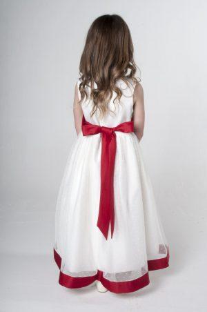 Girls Red Dress Alice