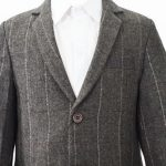 brown check tweed jacket 1
