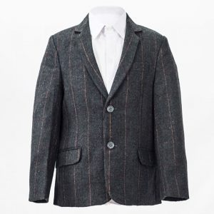 Tweed Check Grey Jacket
