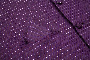 Boys Purple Waistcoat Philip