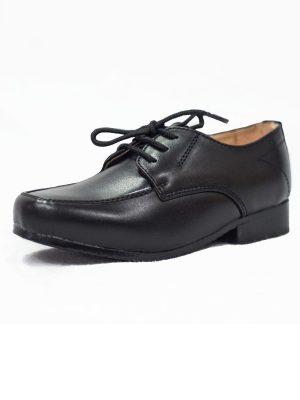 Boys Shoes Boys Black Matte William Shoe