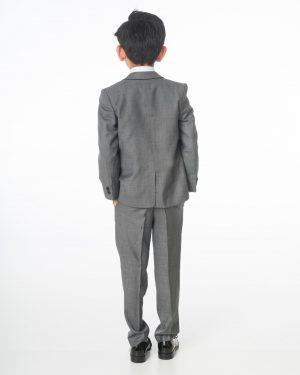 Boys Grey Suit, 5 Piece Milano Mayfair - James