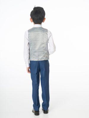 Boys Blue Suit, 5 Piece Milano Mayfair - James