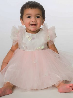 Baby Girls Dresses Baby Girls Butterfly Dress in Pink
