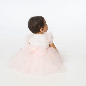 Baby Girls Butterfly Dress in Pink