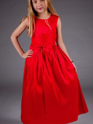 Flower Girl Dresses and Bridesmaid Dresses Girls Katie Dress in Red